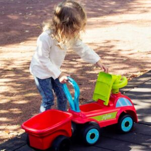 Детско камионче проходилка за яздене - Играчки за навън - Проходилки