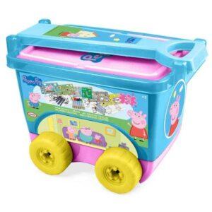 Детско камионче с пособия за рисуване - PEPPA PIG - Ученически пособия - Комплекти за рисуване - За детето - Peppa Pig
