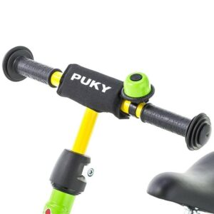 Детско колело без педали със степенка и звънец PUKY LR M PLUS - киви - Играчки за навън - Балансиращи колела