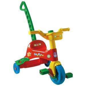 Детско колело - триколка с педали, Unico - Играчки за навън - Детски триколки и четириколки