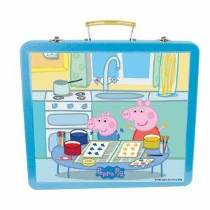 Детско куфарче за рисуване - Прасето Пепа - Детски играчки - Образователни играчки - Комплекти за рисуване - Peppa Pig