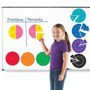 Детско математическо помагало с дроби и проценти - Детски играчки