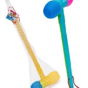 Детско пластмасово чукче със свирка - Детски играчки - Музикални инструменти