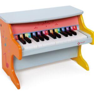 Детско шарено пиано - Детски играчки - Музикални инструменти - Дървени играчки