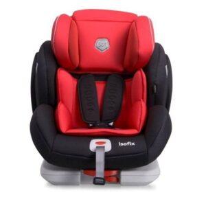 Детско столче за кола Penta Fix 1/2/3 (9-36 kg) - Червено - Детски и бебешки столчета за кола - Детски столчета за кола - Възраст 1/2/3г. (9-36 кг.)