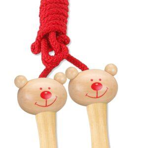 Детско въже за скачане - Детски играчки - Други занимателни и спортни играчки - Дървени играчки