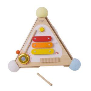 Дидактическа пирамида за деца - Детски играчки - Дървени играчки