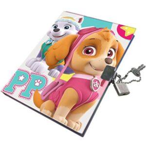 Дневник с катинар - Paw Patrol - Ученически пособия - Детски дневници - За детето - PAW Patrol