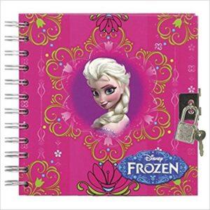 Дневник със заключване - Frozen - Ученически пособия - Детски дневници - За детето - Frozen