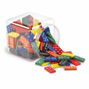 Гигантско домино - 168 цветни плочки - Детски играчки - STEM Играчки