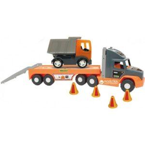 Голям камион играчка със самосвал - Детски играчки - Детски камиончета и коли