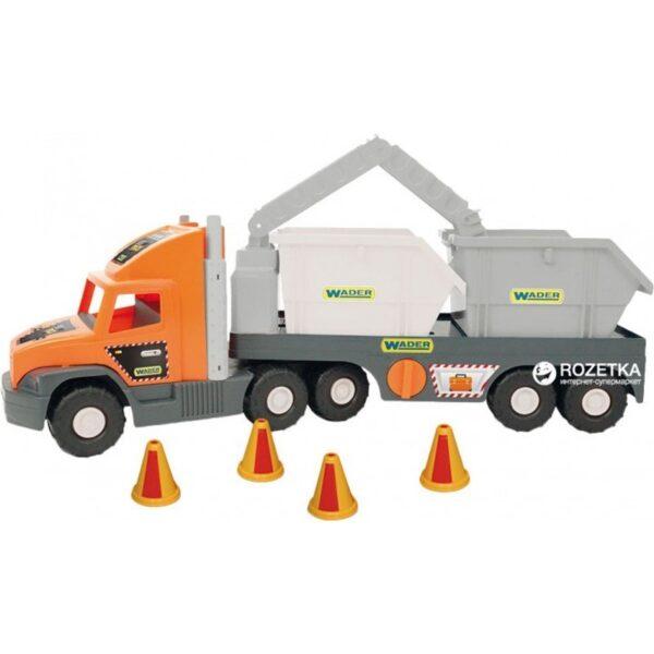 Голям камион с контейнери - Детски играчки - Детски камиончета и коли