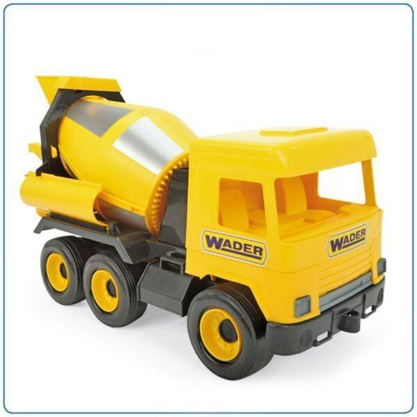 Голяма играчка бетоновоз - Детски играчки - Детски камиончета и коли