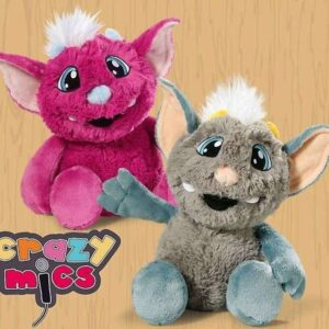 Говореща играчка розова-Talking Monster Crazy Yо - Детски играчки - Плюшени играчки