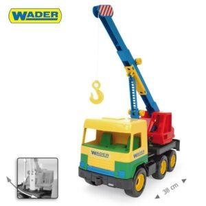 Играчка камион с кран - Детски играчки - Детски камиончета и коли