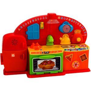 Играчка кухня за деца с мелодии и звуци - Детски играчки - Музикални инструменти