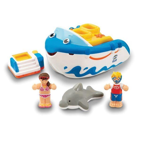 Играчка за къпане - Лодка за гмуркане Дани - Детски играчки - Други занимателни и спортни играчки