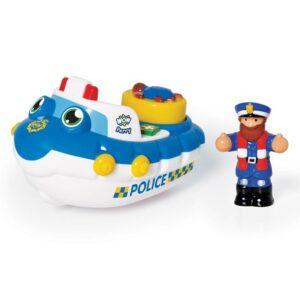 Играчка за къпане - Полицейската лодка на Пери - Детски играчки - Бебешки играчки