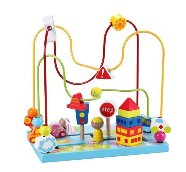 Играчка за координация тип лабиринт - Детски играчки - Образователни играчки - Дървени играчки