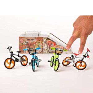 Играчка за пръсти Колело BMX, черно - Детски играчки - Играчки за пръсти - Фингърбордове