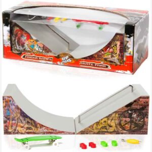 Играчка за пръсти Рампа, с пениборд - Детски играчки - Играчки за пръсти - Фингърбордове