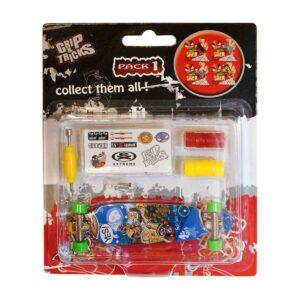 Играчка за пръсти LONG BOARD, син - Детски играчки - Играчки за пръсти - Фингърбордове