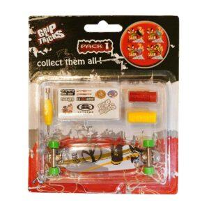 Играчка за пръсти LONG BOARD, сив - Детски играчки - Играчки за пръсти - Фингърбордове