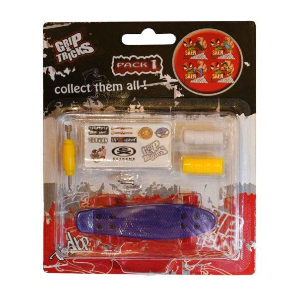 Играчка за пръсти PENNY BOARD, лилав - Детски играчки - Играчки за пръсти - Фингърбордове