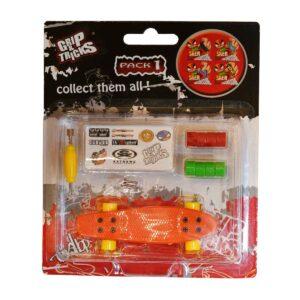 Играчка за пръсти PENNY BOARD, оранжев - Детски играчки - Играчки за пръсти - Фингърбордове