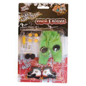 Играчка за пръсти Ролери, бели - Детски играчки - Играчки за пръсти - Фингърбордове