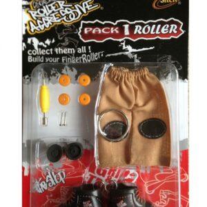 Играчка за пръсти Ролери, червени - Детски играчки - Играчки за пръсти - Фингърбордове