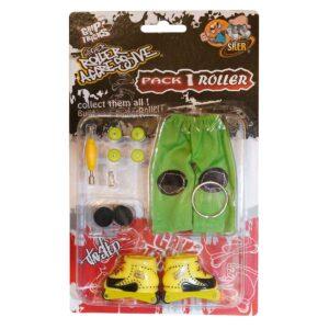 Играчка за пръсти Ролери, жълти - Детски играчки - Играчки за пръсти - Фингърбордове