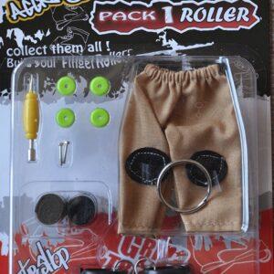 Играчка за пръсти Ролери, сини - Детски играчки - Играчки за пръсти - Фингърбордове