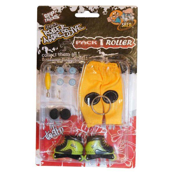 Играчка за пръсти Ролери, зелени - Детски играчки - Играчки за пръсти - Фингърбордове