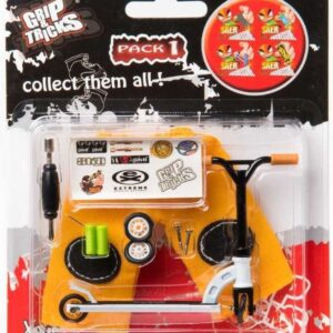 Играчка за пръсти Скутер, бял - Детски играчки - Играчки за пръсти - Фингърбордове