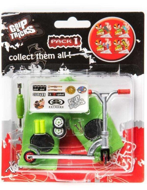Играчка за пръсти Скутер, сив - Детски играчки - Играчки за пръсти - Фингърбордове