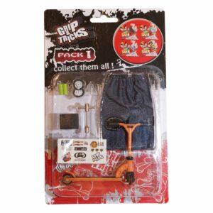 Играчка за пръсти Тротинетка, оранжева - Детски играчки - Играчки за пръсти - Фингърбордове