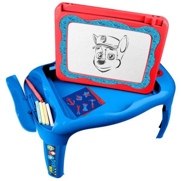 Интерактивна дъска с маса Paw Patrol, 2 в 1, за рисуване - Детски играчки