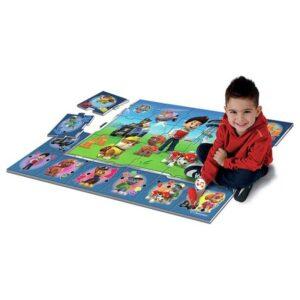 Интерактивно килимче за игра - Paw Patrol - Детски играчки - Детски килими за игра - PAW Patrol