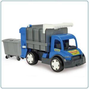 Камион за боклук, син - Детски играчки - Детски камиончета и коли
