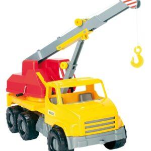 Камион за игра с кран - Детски играчки - Детски камиончета и коли