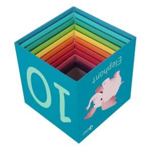 Картонени кубчета за редене - горски животни - Детски играчки - Дървени играчки