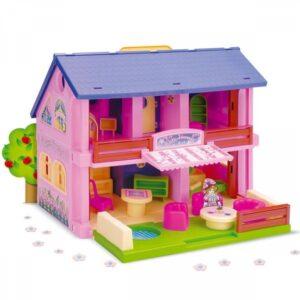 Къща за игра с кукли - Детски играчки - Къщи за игра, маси и столове