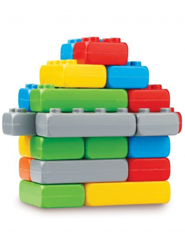 Класически конструктор - Строителни блокове, 25 части - Детски играчки - Конструктори