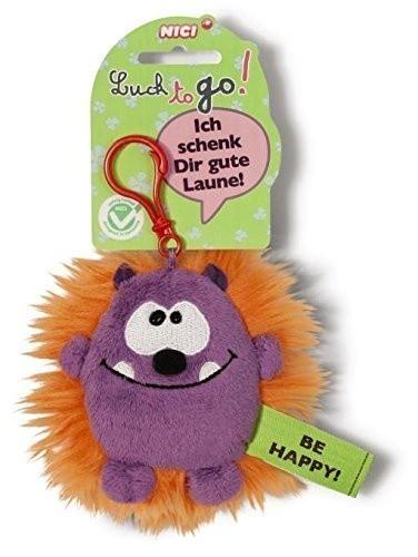 Ключодържател Таласъм лилаво/оранжев - Детски играчки - Плюшени играчки - За детето - Детски аксесоари