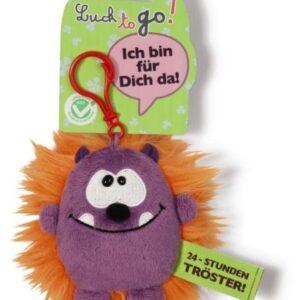 Ключодържател Таласъм лилаво/оранжево 10 см. - Детски играчки - Плюшени играчки - За детето - Детски аксесоари