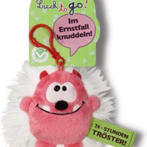 Ключодържател Таласъм розово/бял 10 см. - Детски играчки - Плюшени играчки - За детето - Детски аксесоари