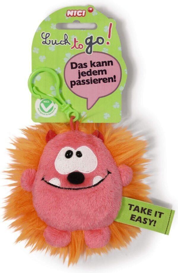 Ключодържател Таласъм розово/оранжев 10 см. - Детски играчки - Плюшени играчки - За детето - Детски аксесоари