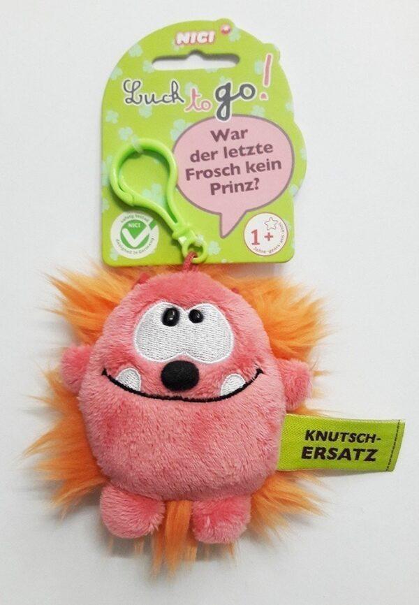 Ключодържател Таласъм розово/оранжево 10 см. - Детски играчки - Плюшени играчки - За детето - Детски аксесоари