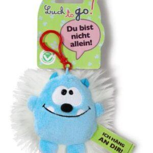 Ключодържател Таласъм синьо/бяло 10 см. - Детски играчки - Плюшени играчки - За детето - Детски аксесоари
